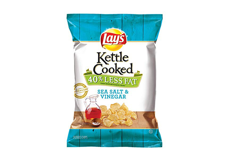Lay's Sea Salt & Vinegar 40% Less Fat