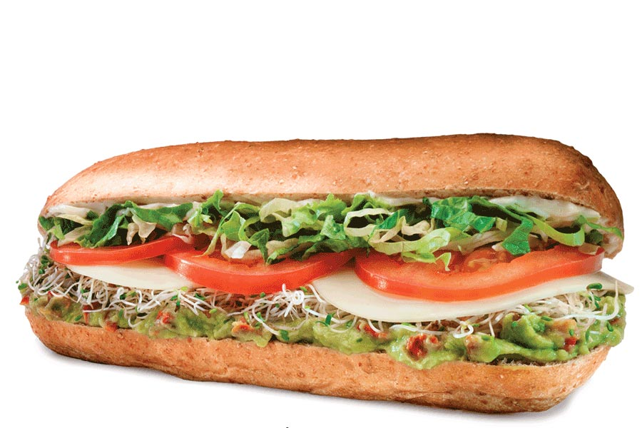 Veggie Delite Sandwich
