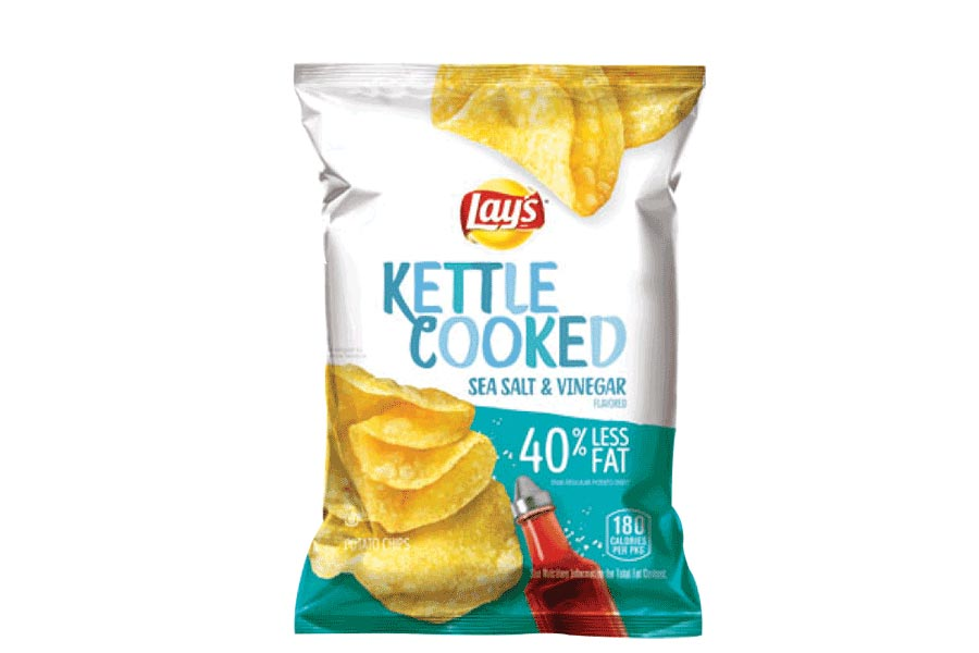 Lay's Kettle Cooked Sea Salt + Vinegar