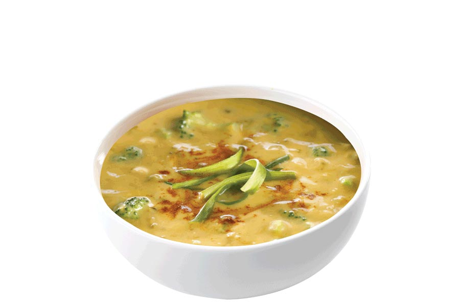 Golden Broccoli + Cheese Soup