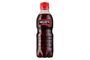 Milios Sandwiches Branded Bottle