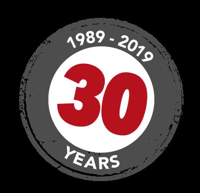 30 Years Stamp