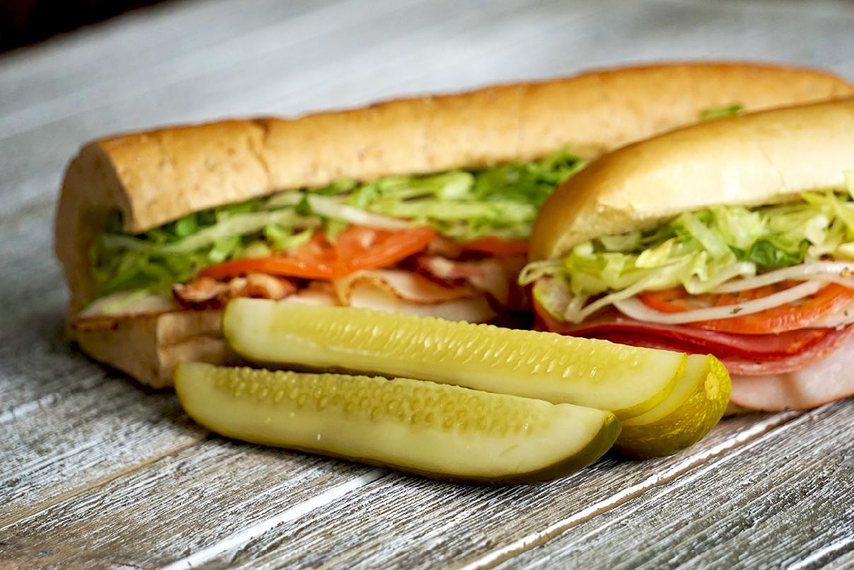 Milio's Sandwich with Pickle