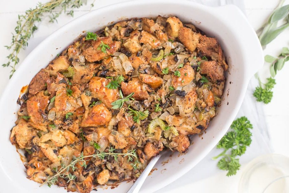 Stuffing Using Milio's Day Old Bread